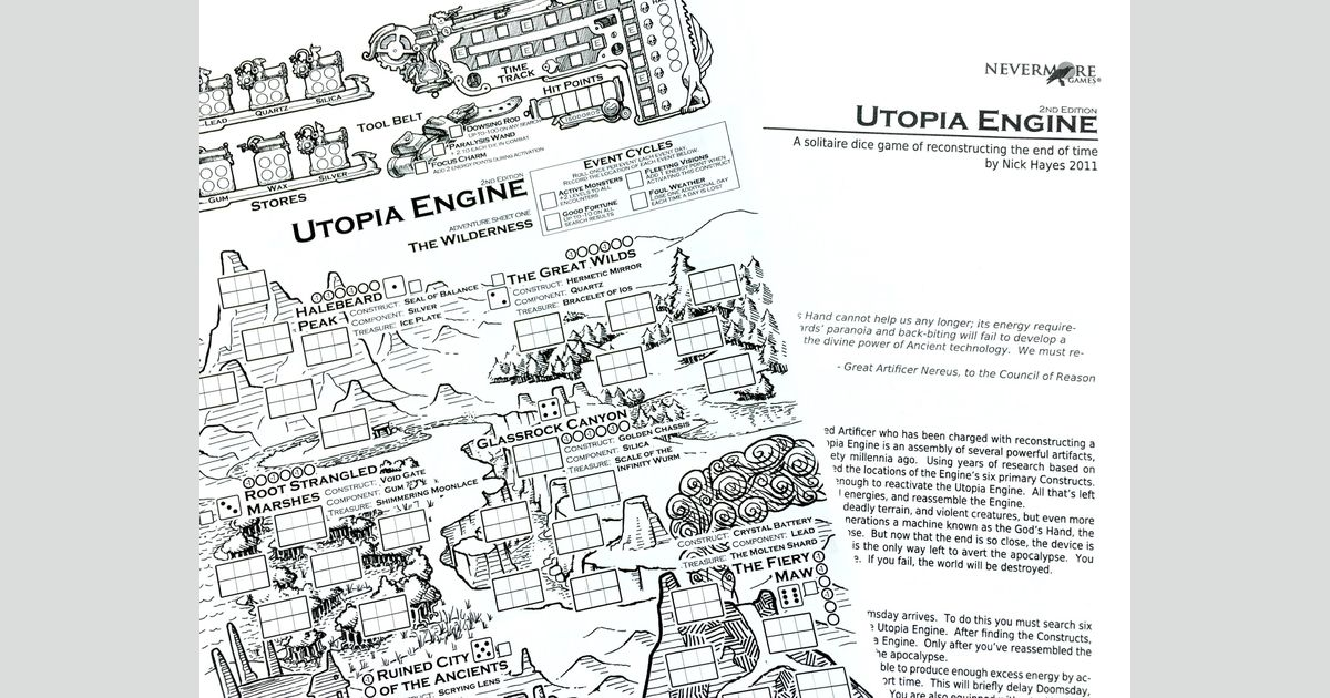 Utopia Engine | Board Game | BoardGameGeek