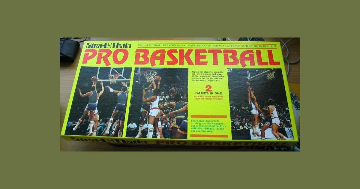 Strat-O-Matic Pro Basketball - The Basic Game | Strat-O