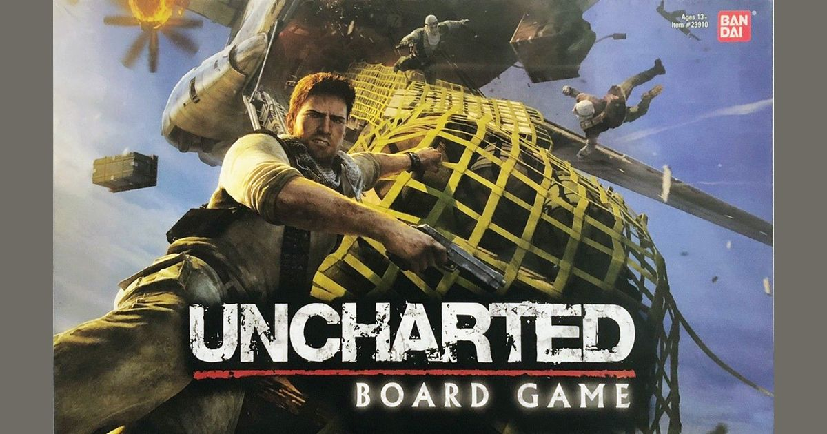 Uncharted The Board Game Board Game Boardgamegeek
