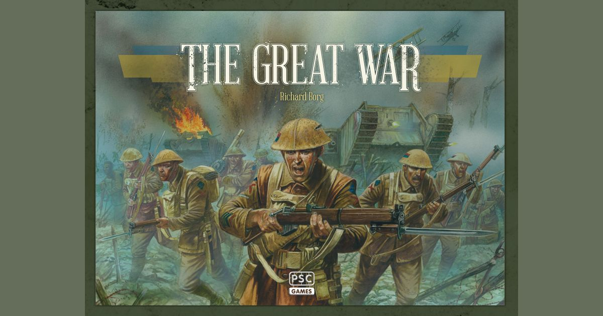 The Great War Centenary Edition Board Game Brand New