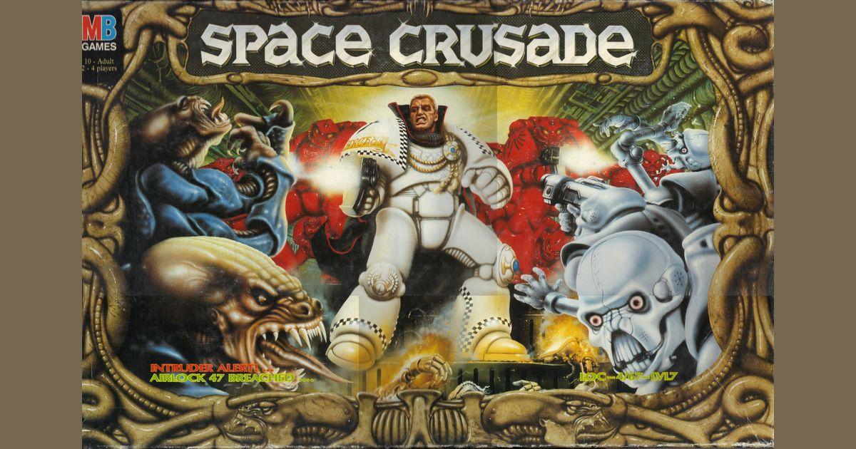 Space Crusade Rule /& Mission Book MB Games Workshop Warhammer 40k