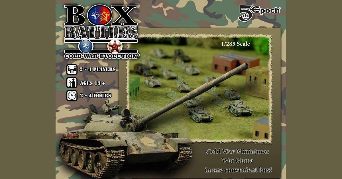 Box Battles: Cold War Evolution   Board Game   BoardGameGeek
