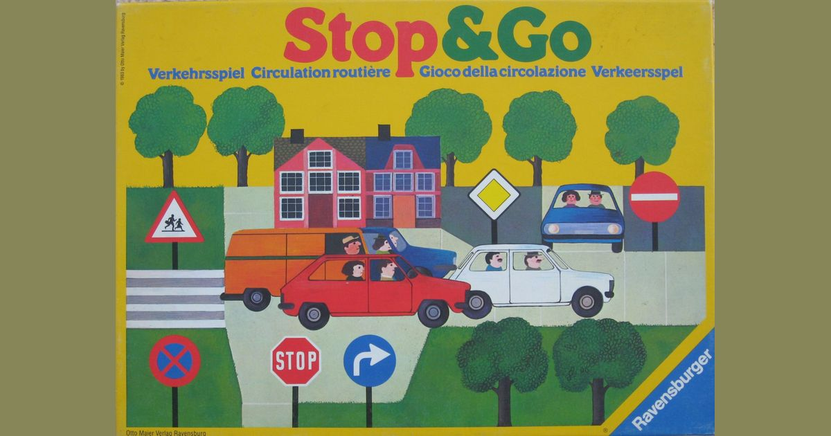 Stop And Go Auto >> Stop Go Board Game Boardgamegeek