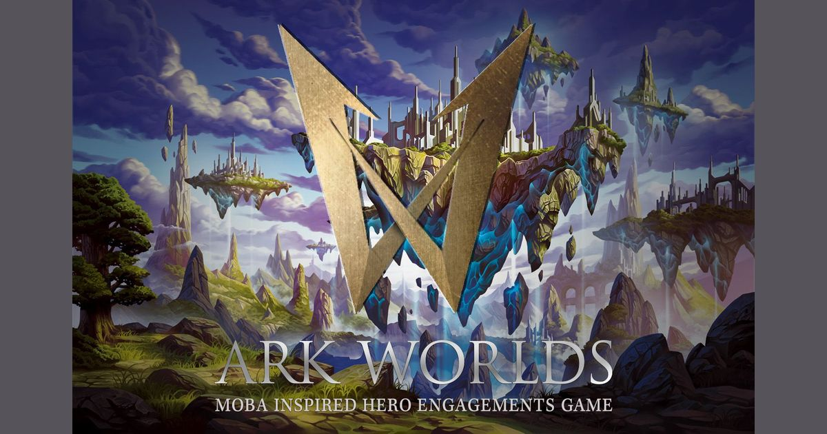 Ark Worlds: MOBA Inspired Hero Engagements Game | Board Game