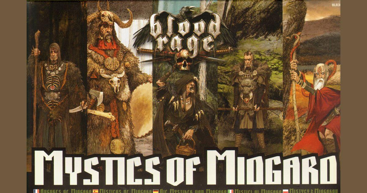 Mystics of Midgard Blood Rage