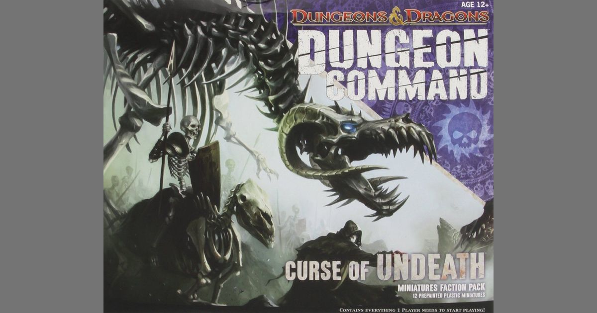 Dungeon Command: Curse of Undeath – A Written Review