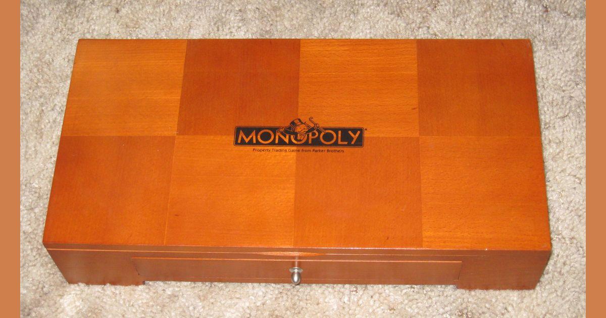 Monopoly Michael Graves Wooden Keepsake Board Game Boardgamegeek