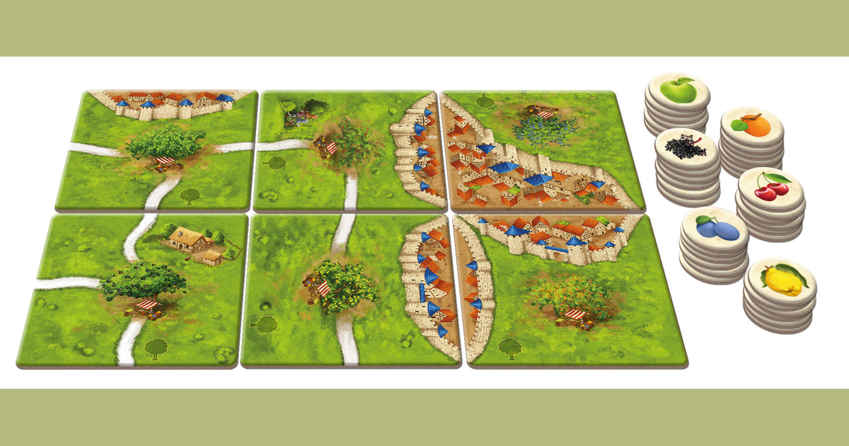 Carcassonne The Fruit Bearing Trees Board Game Boardgamegeek