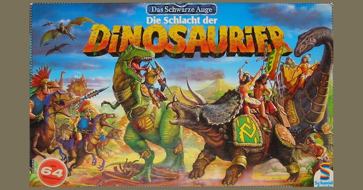 Die Schlacht der Dinosaurier | Board Game | BoardGameGeek