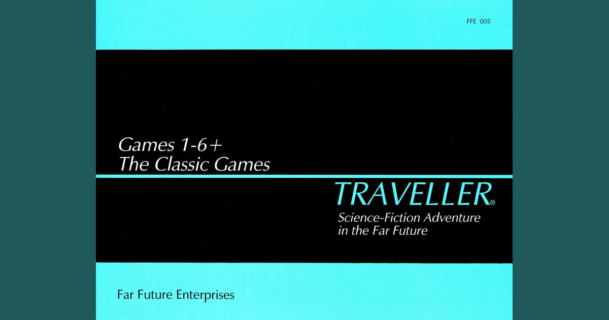 Traveller: The Classic Games, Games 1-6+ | Board Game