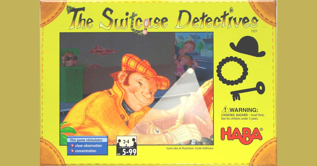 The Suitcase Detectives   Board Game   BoardGameGeek