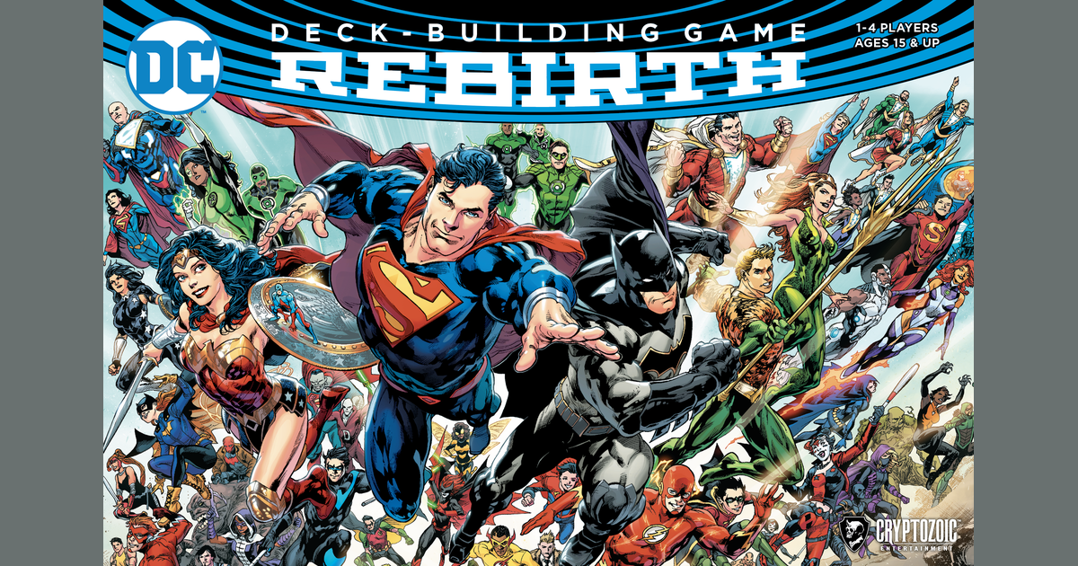 Image result for DC Deck Building Rebirth