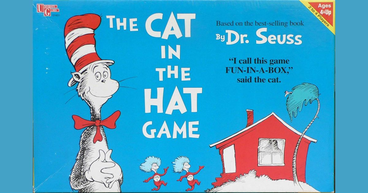 The Cat in the Hat and the GameOMat | Video Game Fanon ...