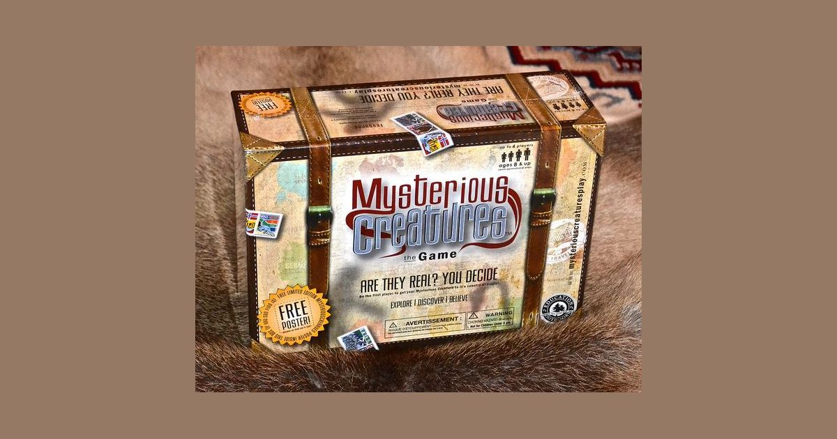 Mysterious Creatures   Board Game   BoardGameGeek