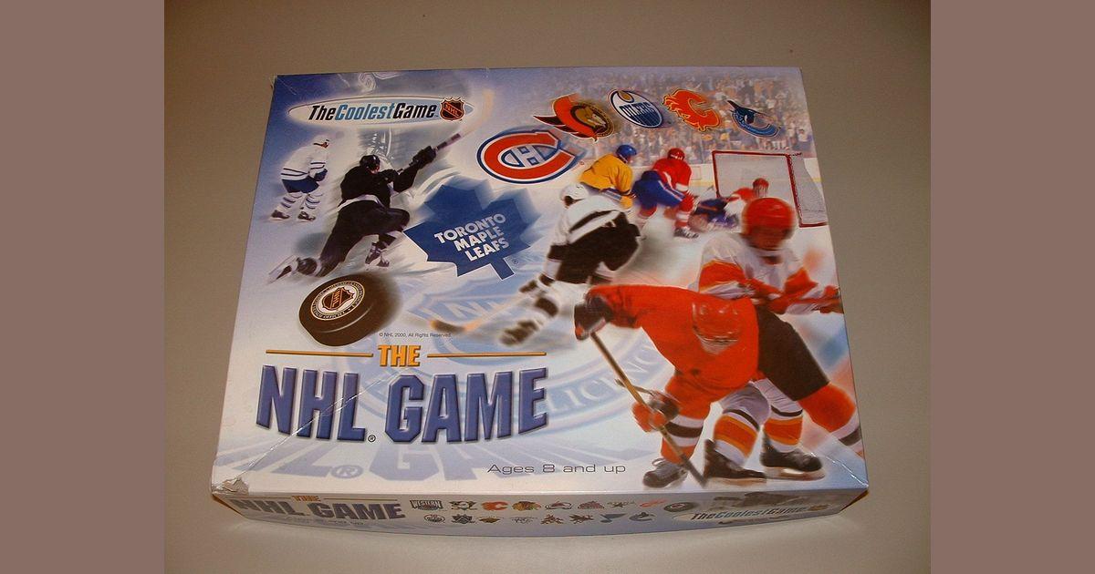 The Nhl Game Board Game Boardgamegeek