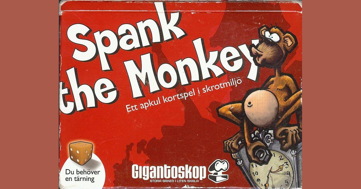 Spank the Monkey   Board Game   BoardGameGeek