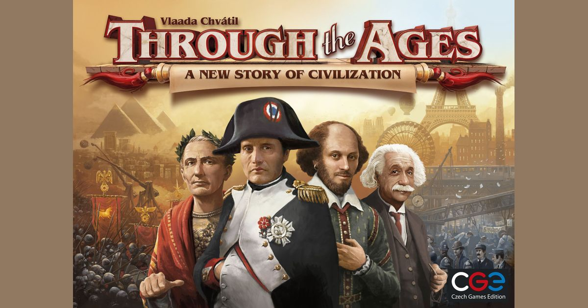 Through the Ages: A New Story of Civilization | Board Game