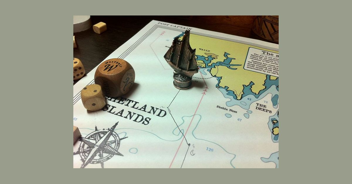 Post Captain   Board Game   BoardGameGeek