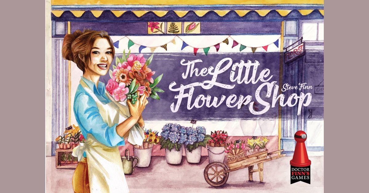 The Little Flower Shop Board Game Boardgamegeek