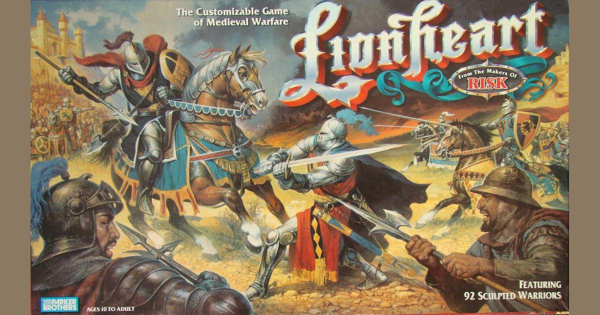 Lionheart | Board Game | BoardGameGeek