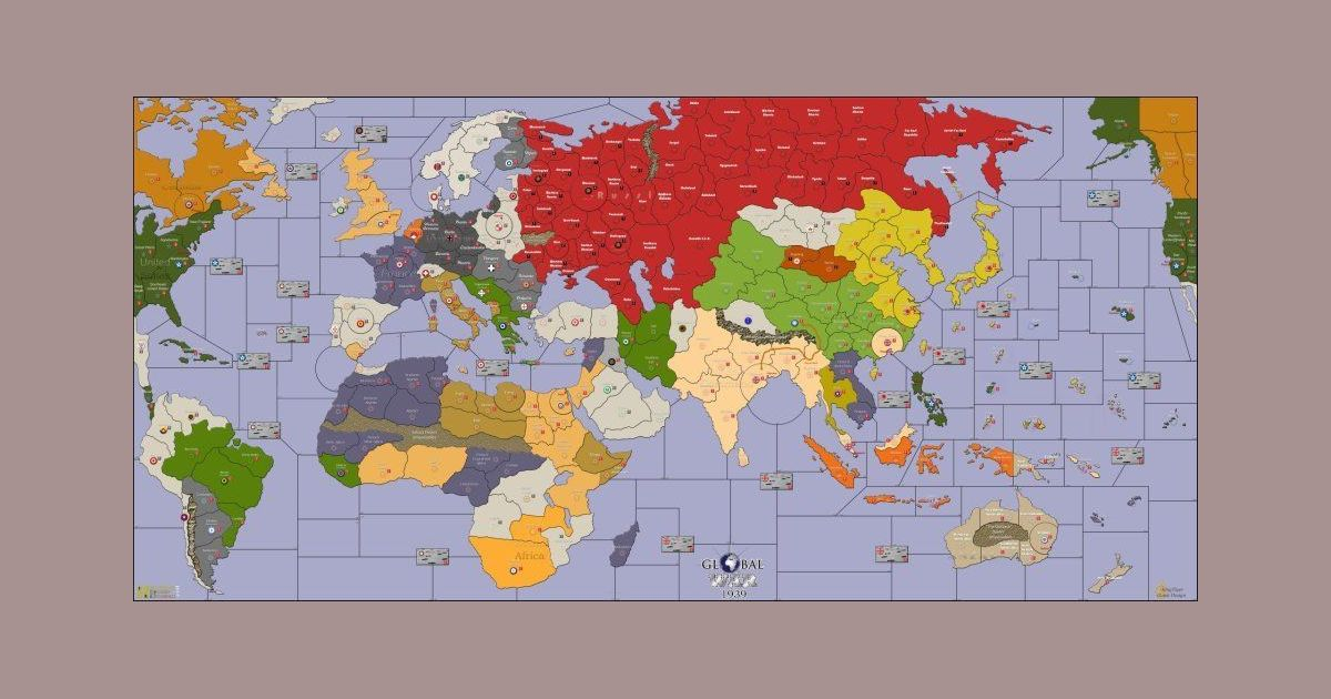 Global War 1939   Board Game   BoardGameGeek