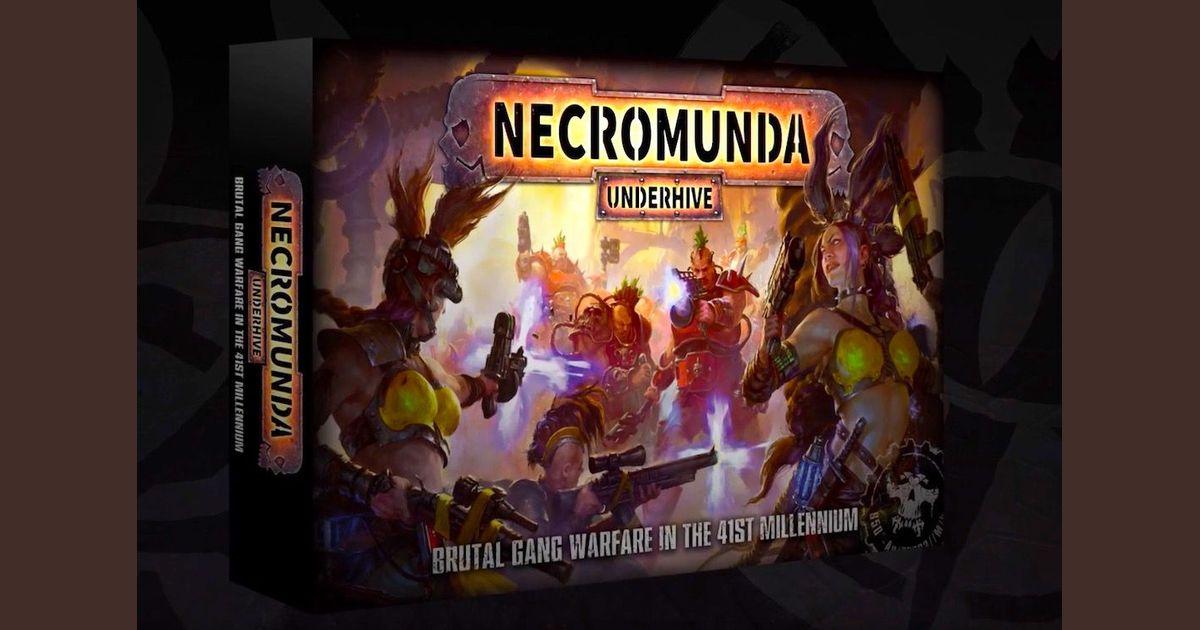 Necromunda cards availability | Necromunda: Underhive
