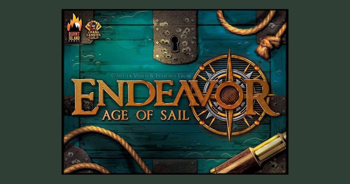 Endeavor: Age of Sail | Board Game | BoardGameGeek