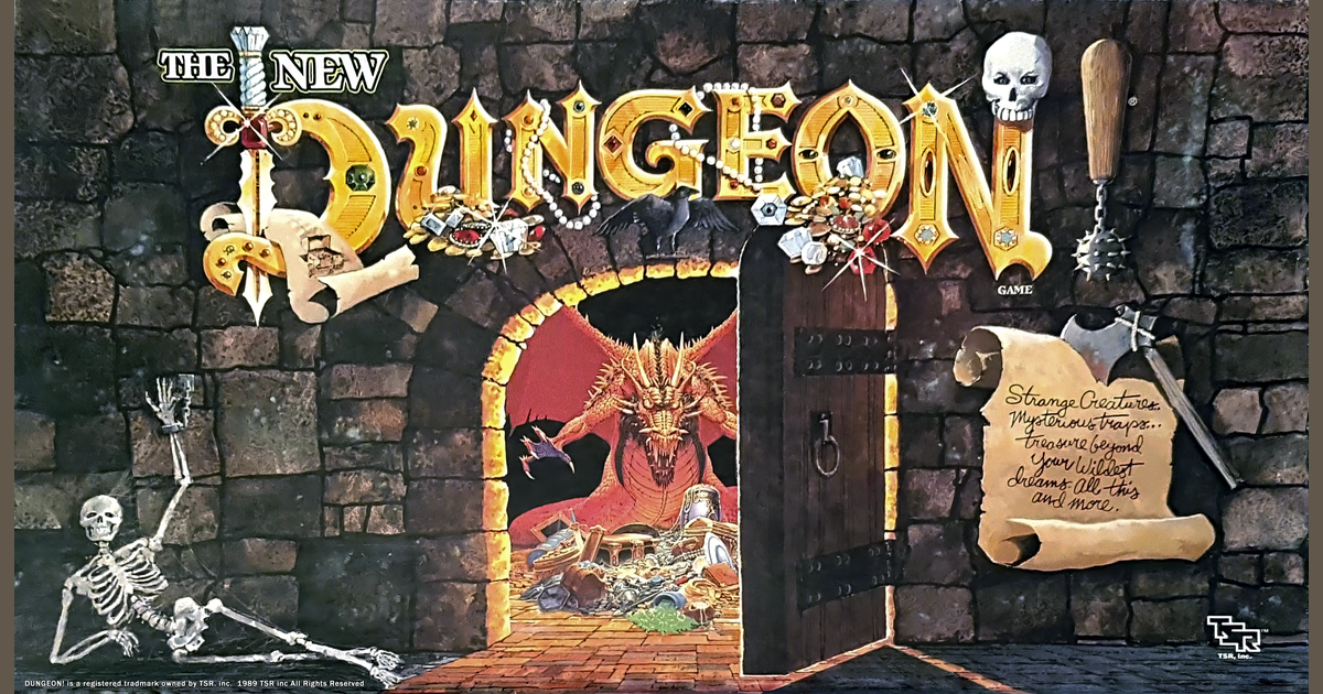 The New Dungeon! | Board Game | BoardGameGeek