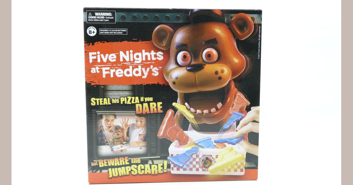 Five Nights At Freddy's | Board Game | BoardGameGeek