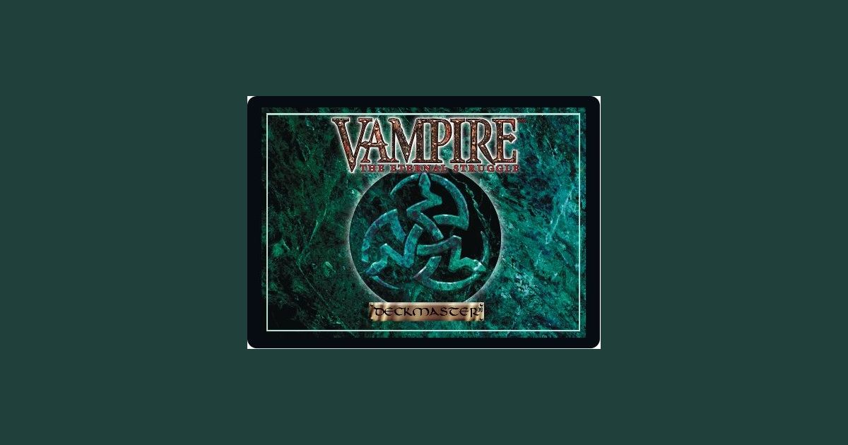 Vampire The Eternal Struggle Board Game Boardgamegeek