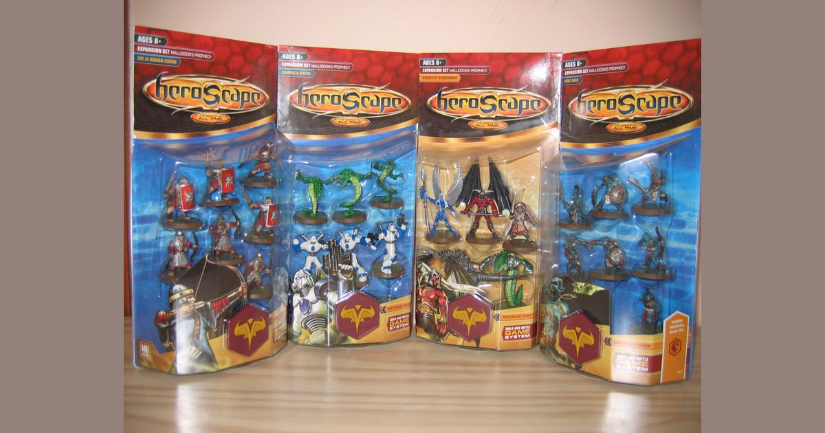 Heroscape Venoc Vipers Malliddon/'s Prophecy Wave 1 Free Shipping Available