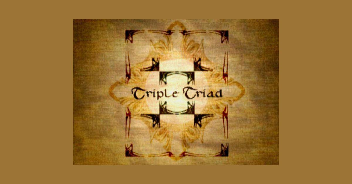 Final Fantasy VIII: Triple Triad | Board Game | BoardGameGeek