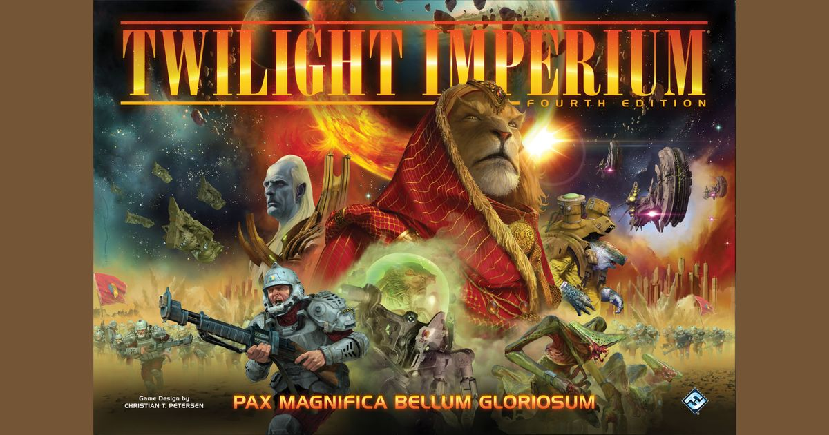 Twilight Imperium (Fourth Edition) | Board Game | BoardGameGeek