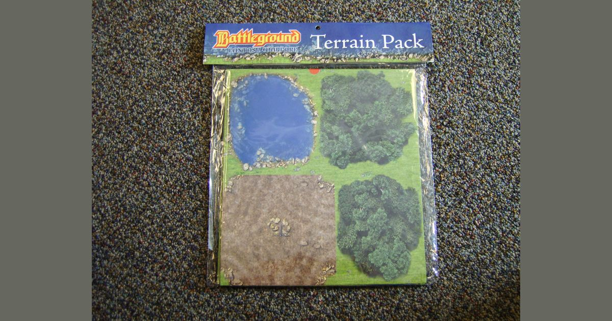 Battleground: Fantasy Warfare Terrain Pack | Board Game