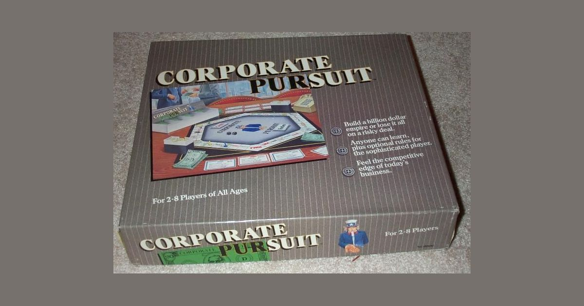 Corporate Pursuit | Board Game | BoardGameGeek