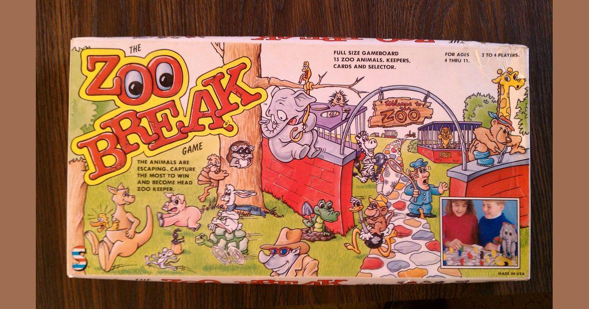 The Zoo Break Game | Board Game | BoardGameGeek