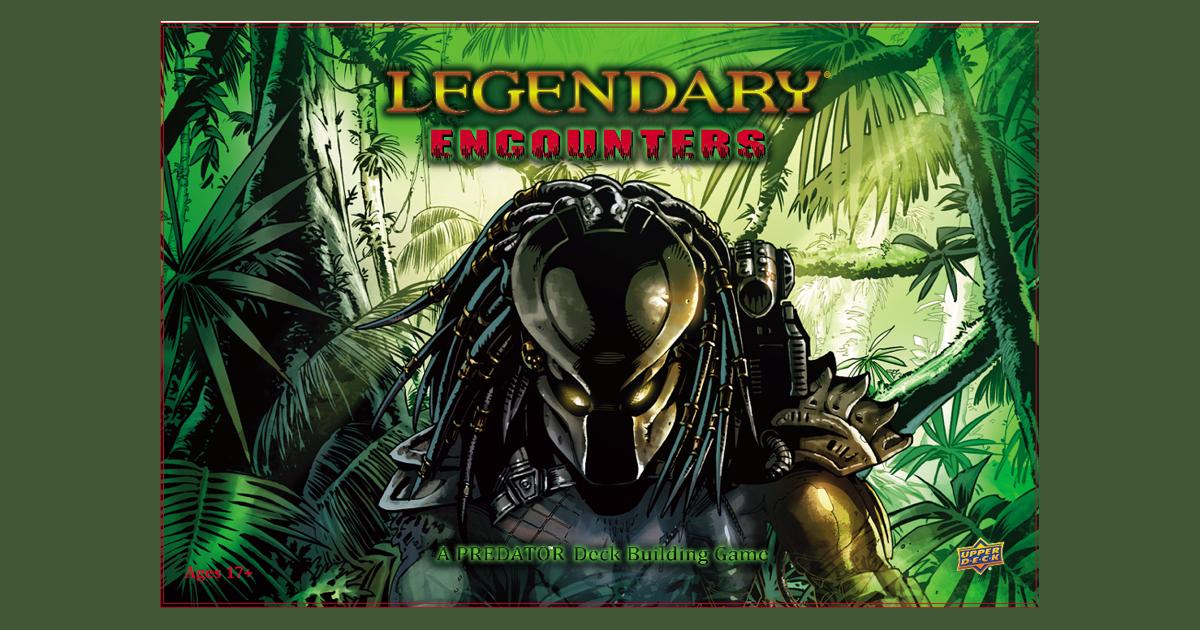 Upperdeck Entertainment Legendary Encounters Alien Deckbuilding Game