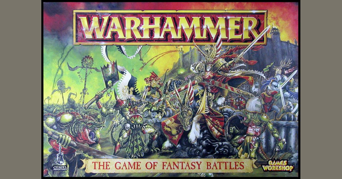 Warhammer The Game Of Fantasy Battles 5th Edition Board