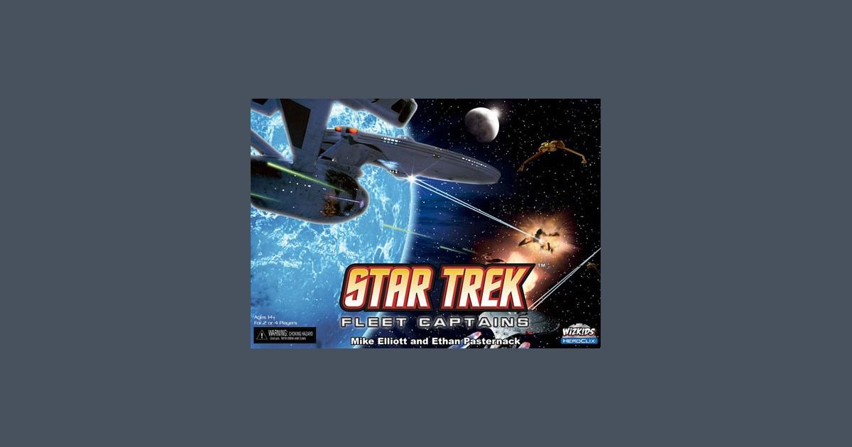 Mil05006 Reviews: Star Trek: Fleet Captains! With a
