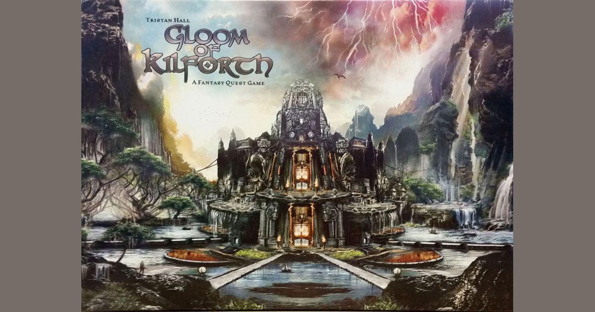 Gloom Of Kilforth A Fantasy Quest Game Board Game Boardgamegeek