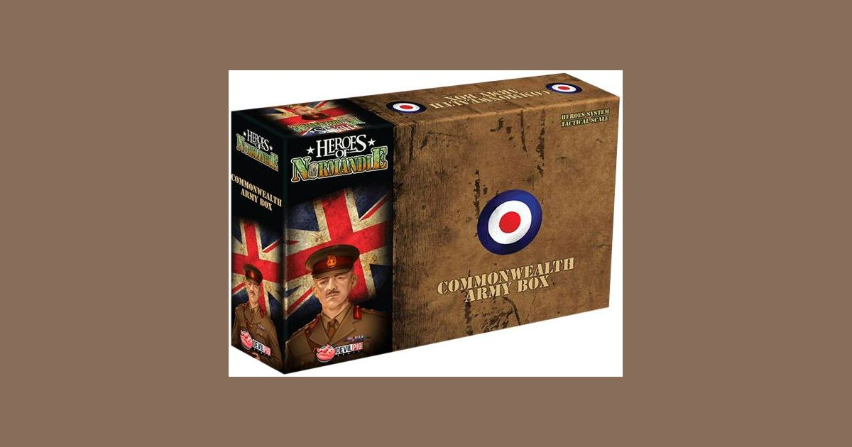 IELLO Heroes of Normandie Army Box UK Board Game