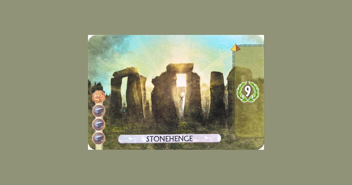 Statue of Liberty Messe Stonehenge 7 Wonders Duel PROMO – Sagrada Familia 2