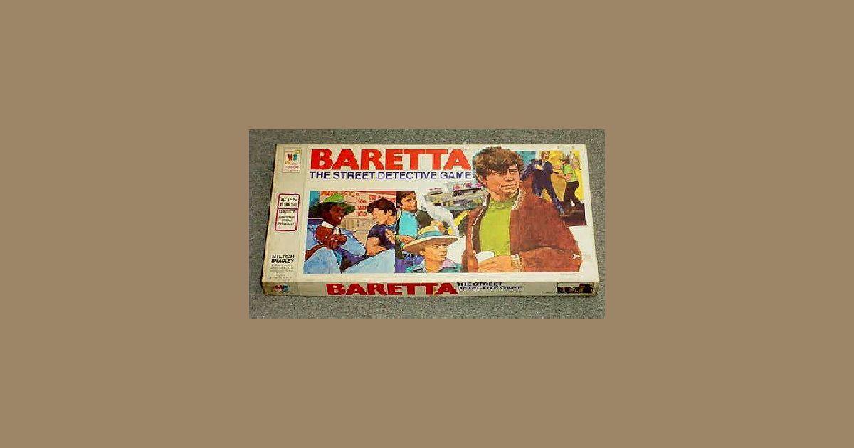 Baretta: The Street Detective Game   Board Game   BoardGameGeek