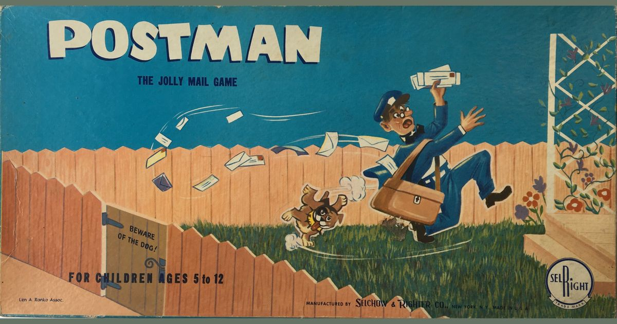 Postman: The Jolly Mail Game | Board Game | BoardGameGeek