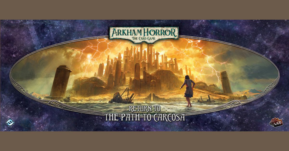 Arkham Horror: The Card Game – Return to the Path to Carcosa | Board Game |  BoardGameGeek