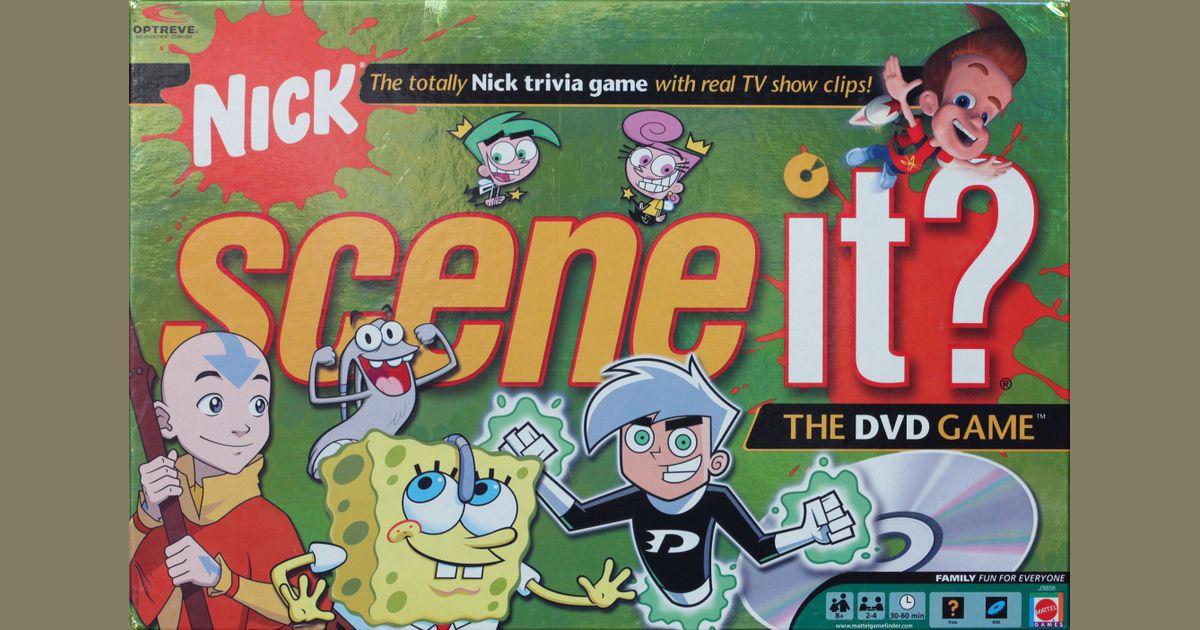 Scene It Nick Board Game Boardgamegeek