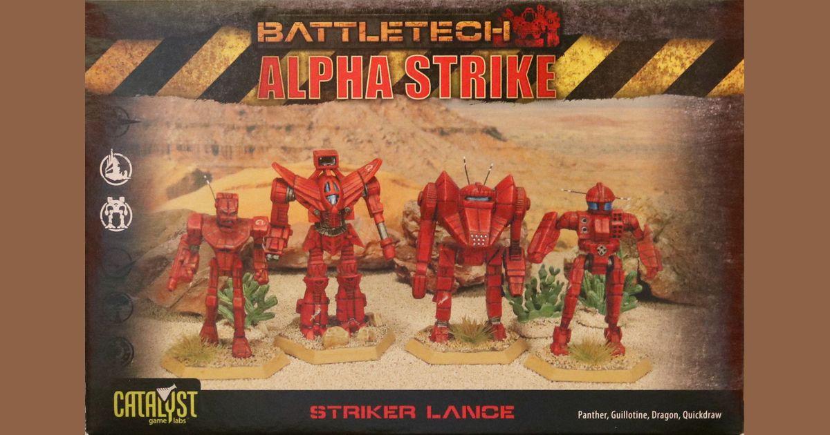 BattleTech Alpha Strike: Striker Lance Pack | Board Game