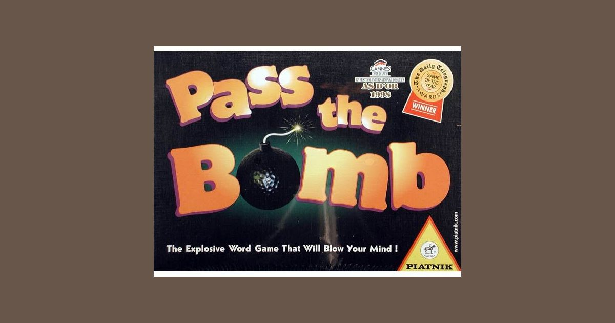 Pass the Bomb | Board Game | BoardGameGeek