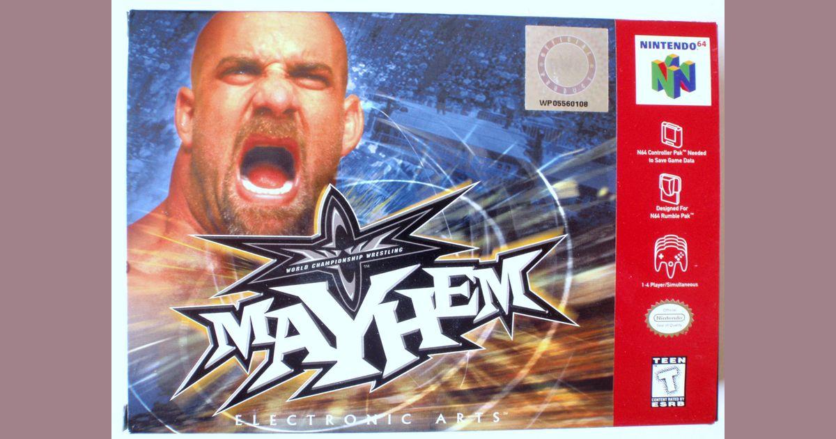 GBC Version -- Controls or Manual? | WCW Mayhem | VideoGameGeek