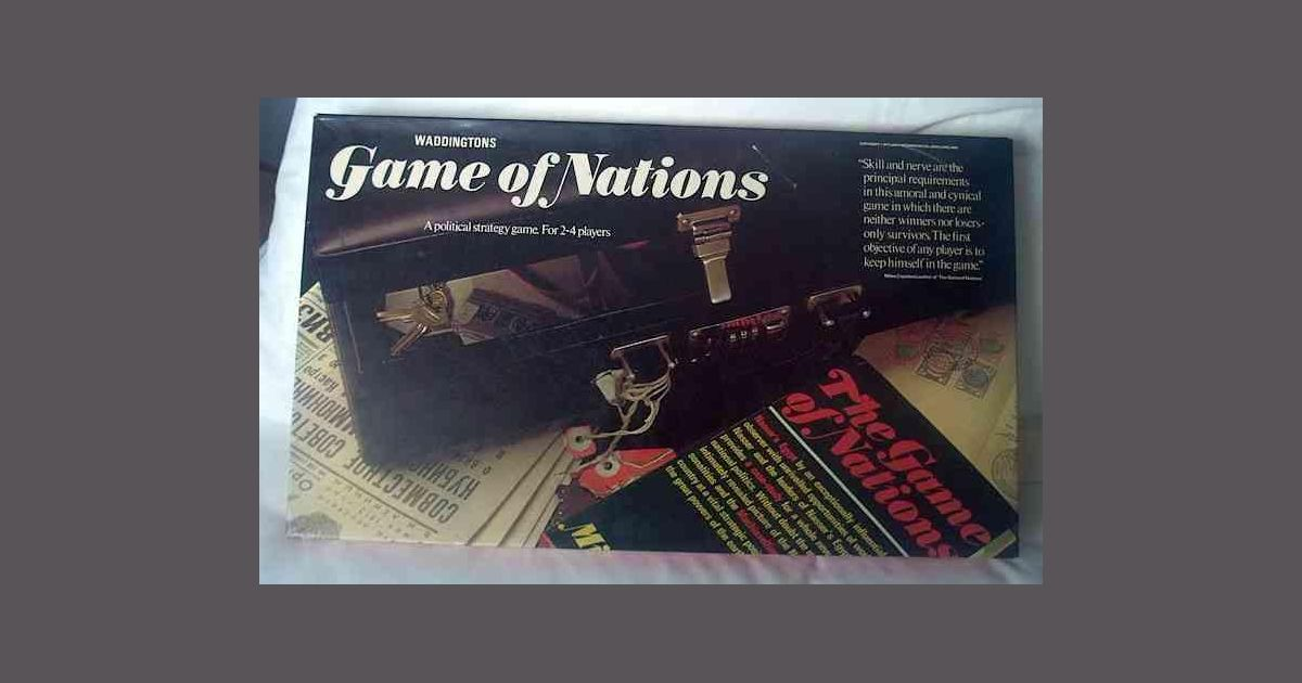 The Game of Nations | Board Game | BoardGameGeek